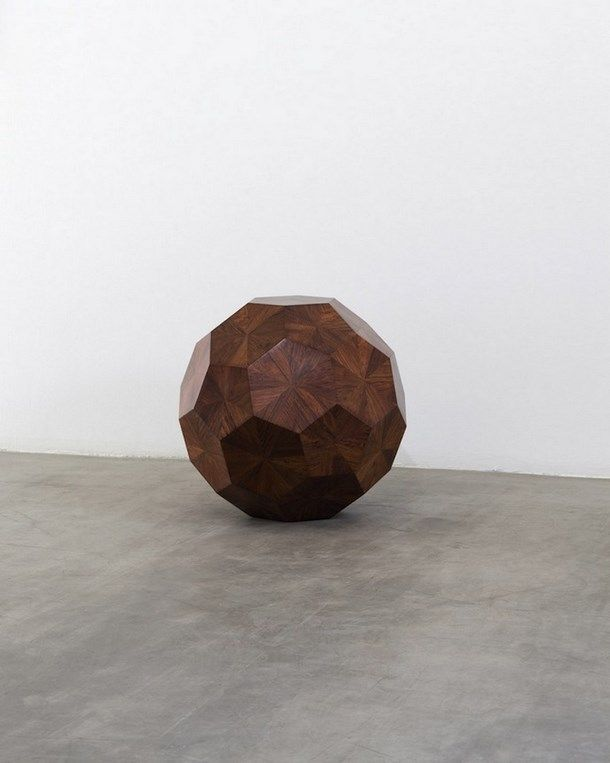 Weiwei wooden ball exhibition Norman Foster as a curator (Carré d'art, Nîmes)