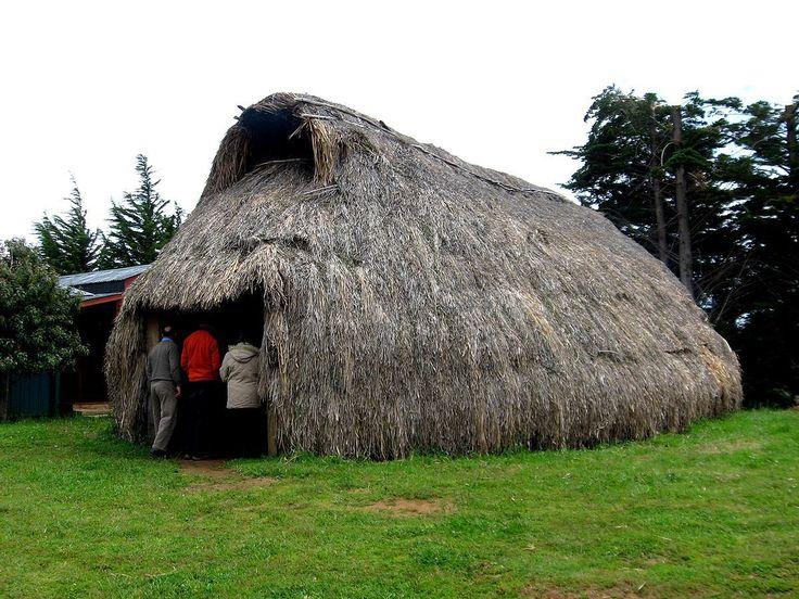 Cultura  mapuche - Ruca  Tradicional
