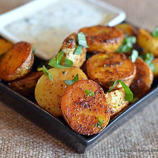 Ras El Hanut Roasted Potatoes