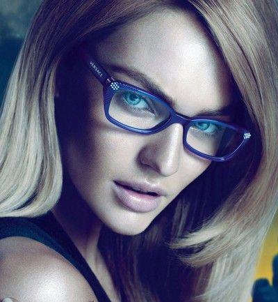 Maquillaje para gafas de ver