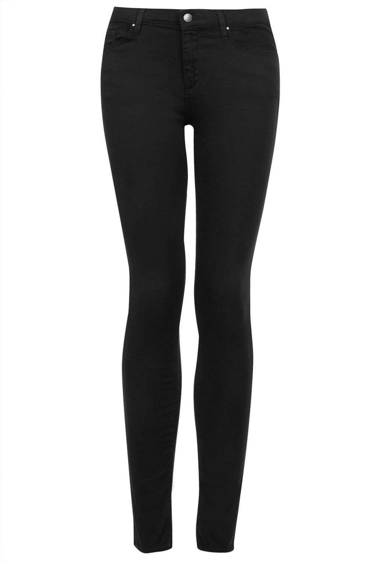 MOTO Black Leigh Jeans - Topshop USA   My favorite pair of jeans in the whole wide world W28L30