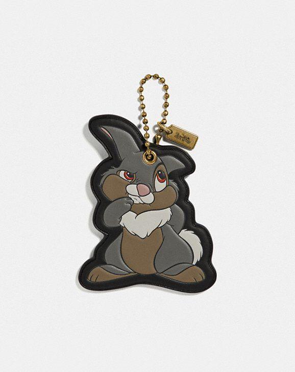 17263cd57b1 Disney x coach thumper bag charm in 2019   All Things Bunny!   Coach ...