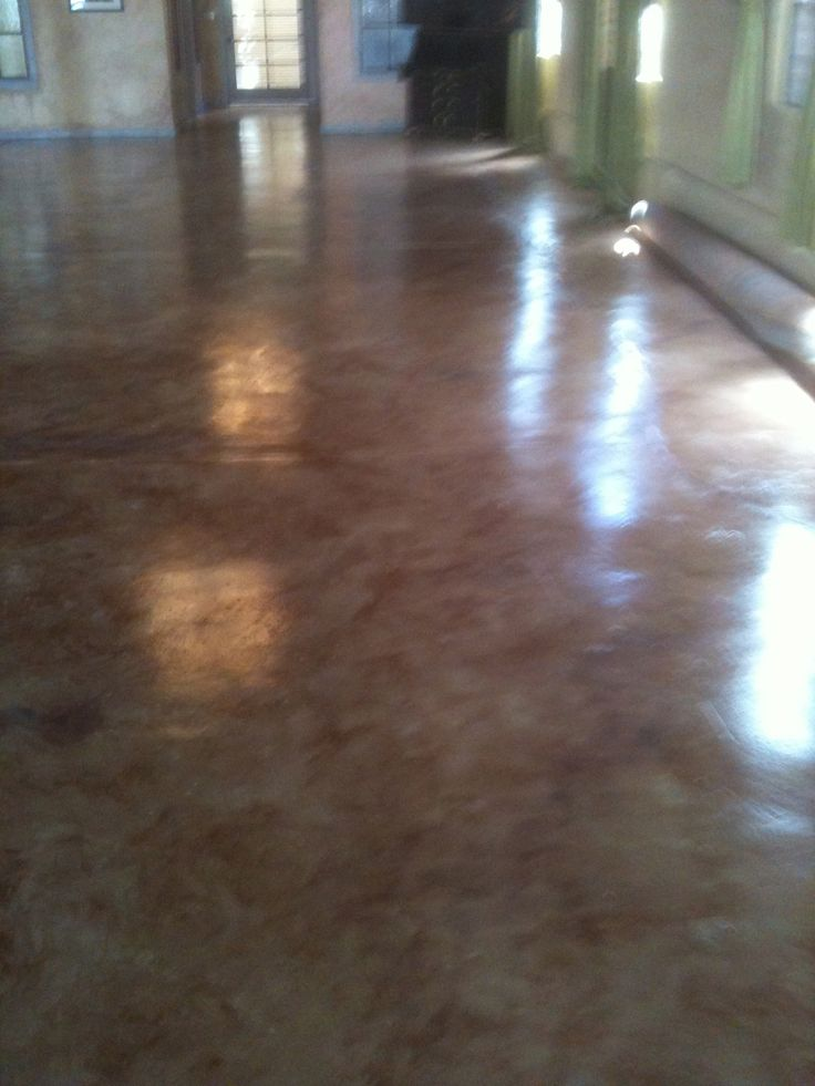 Painted Cement Floor. BASEMENT AND PORCH!  Dutch Boy also has a cement stain that won't bubble up - for damp & wet areas  $24 gal @ Menard's