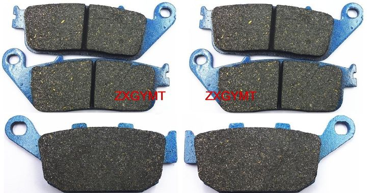 22.92$  Buy now - http://ali3e8.shopchina.info/go.php?t=32791927035 - Motorcycle Semi-Metallic Brake Shoe Pads Set fit TRIUMPH 800 Tiger XR 2015 & up  #buyininternet