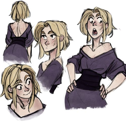 Not too long before going to Skyrim, Valkari actually had pretty short-ish hair.