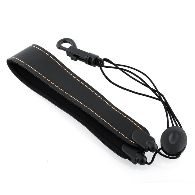 Universal Adjustable comfortable Alto Tenor Saxophone Sax PU Synthetic Leather Strap padded neoprene