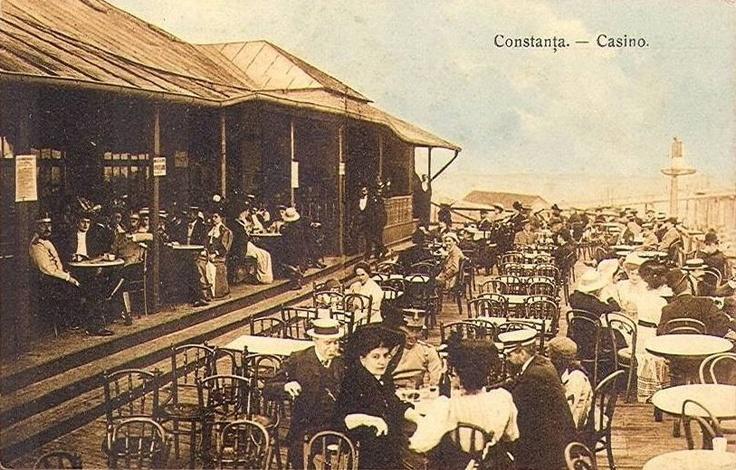 CONSTANTA - CASINO - TERASA - interbelica