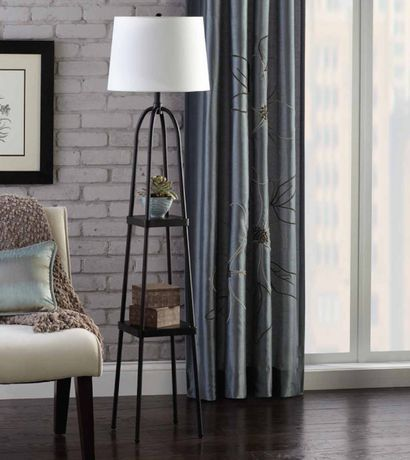 1000 Ideas About Floor Lamp With Shelves On Pinterest