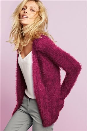 Buy Fluffy Cardi from the Next UK online shop #myawcolour.
