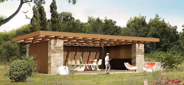 Découvrez notre très large gamme de Pool House Votre choix se pose - abri local technique piscine