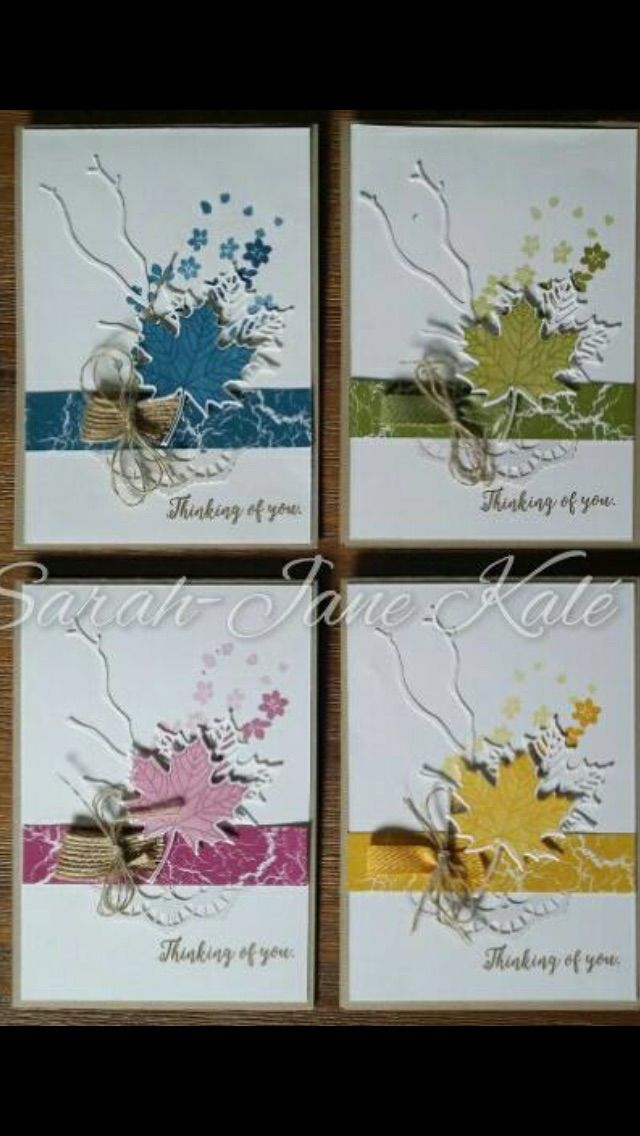 Colorful Seasons Stamp Set and the Seasonal Layers Thinlits Dies- Stampin' Up!