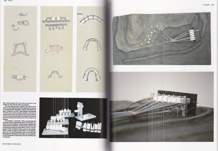 Diller , Elizabeth . (1991)  Education of an Architect , Rizzoli International Publications.