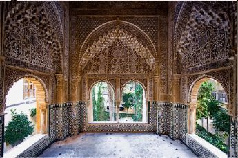 Alhambra inspiration for baths