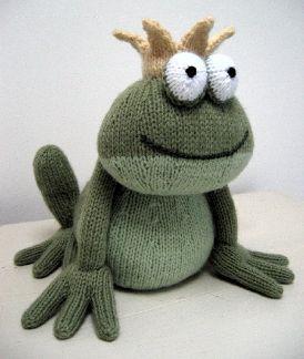 Frog Prince knitting pattern — £2.50 ||| Alan Dart