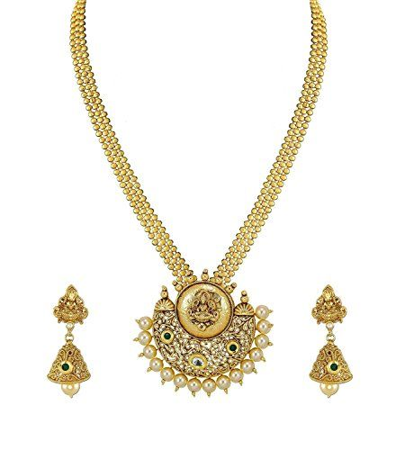 Dazzling Indian Gold Plated Non-Precious Metal Pendant Ne... https://www.amazon.com/dp/B01N6X4J11/ref=cm_sw_r_pi_dp_x_GieMybKV5Y9T7