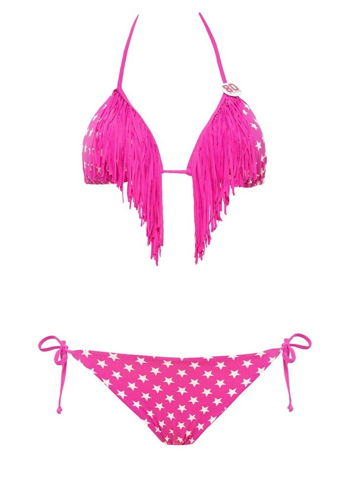 Bikini con frange