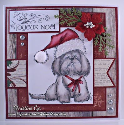 Mo manning stamps/ christmas card