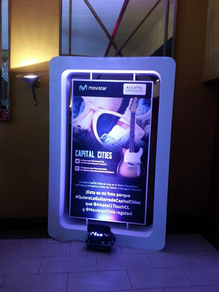 La pasamos increíble con los fans de ALCATEL ONETOUCH Chile y nuestros #smartmovers, escuchando a Capital Cities. ¡Por supuesto las selfies no podían faltar!