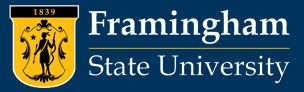 Framingham State University in Framingham