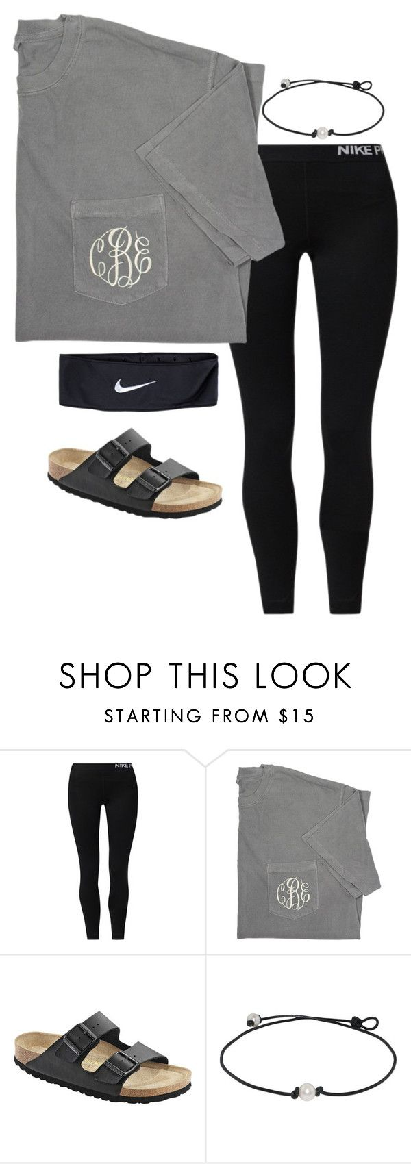 nike shoes •monogram• by simply-preppy-girl ❤ liked on Polyvore featuring NIKE and Birkenstock