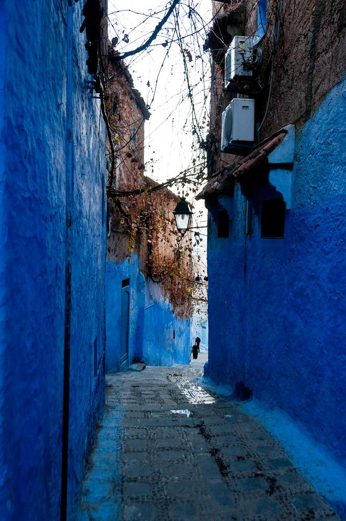 Best Blue Morocco Images On Pinterest Travel Morocco And Colors - Old town morocco entirely blue