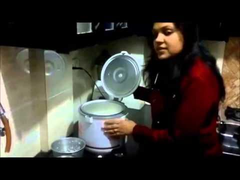 How to make Rice in Electric Rice Cooker