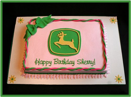 used that pattern for the john deere symbol on a small cake for a princess! Added a tiara and it was a hit!
