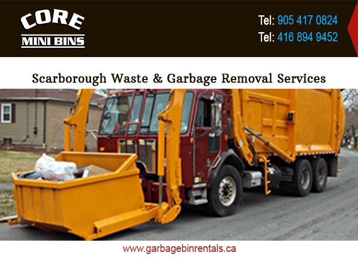 Core Mini Bins at Ontario, Canada expands its operational activities to facilitate the Scarborough residents. The dedicated experts know the local norms and the feasible options to dispose of the waste. The streamlined operation, customized according to on-site requirements, makes the waste garbage services, junk rubbish removal services, and junk removal services in Scarborough the class apart.