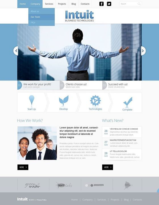Follow-me on Pinterest   Management Company Responsive Website Template CLICK HERE! live demo  http://cattemplate.com/template/?go=2kweNG0