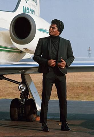 James Brown....He feels good...and he knew that he would