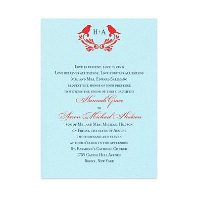 Darcie Wedding Invitations by MyGatsby.comWedding Invitations, Birds Invitations