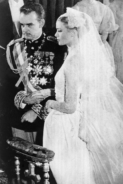 Mariages royaux: Grace Kelly, princesse de Monaco. Photo: Getty Images