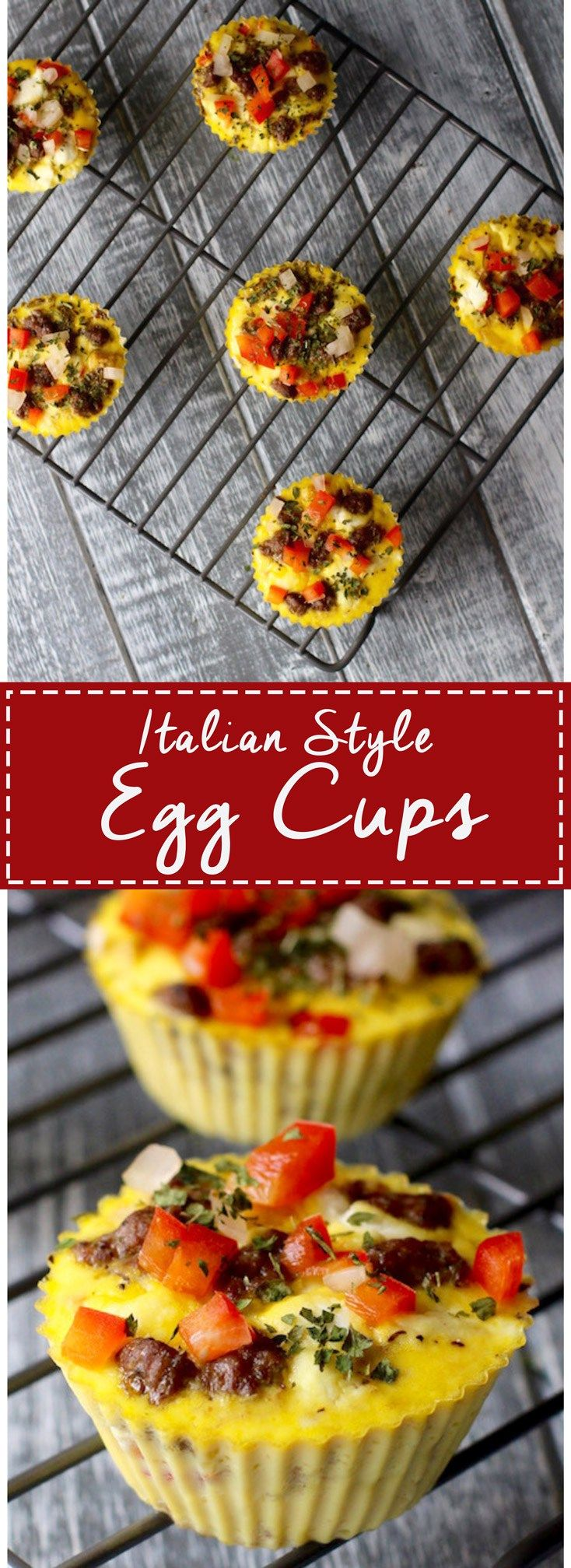 Freezer Friendly Baked Egg Cups