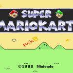 Super Mario Kart, uno de los mejores juegos de Super Nintendo