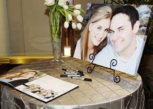 Wedding Sign In Table A Photo Frame Of Us Would Be Just Right