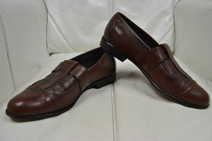 Brown Leather Deck Shoes