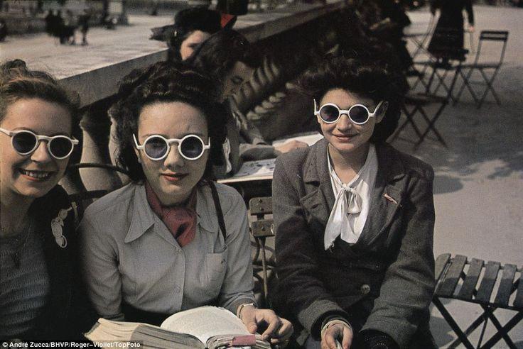 Top 14 des photos du Paris de l'occupation du point de vue allemand, pour faire style que tout va bien