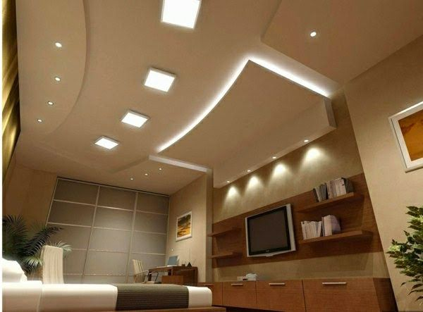 20 Luxury false ceiling designs made of PVC, gypsum board and wood