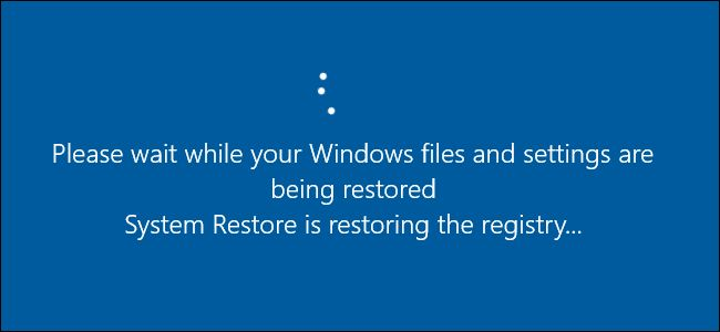 How-To Geek - How to Use System Restore in Windows 7, 8, and 10