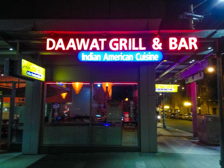 Daawat Grill & Bar . Indian / American . Downtown Seattle, Pike St / Convention Center