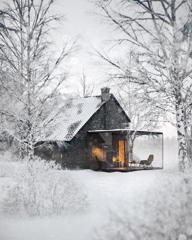 Une extension vitrée pour une ouverture vers l'extérieur. #maison #house #deco #design #inspiration