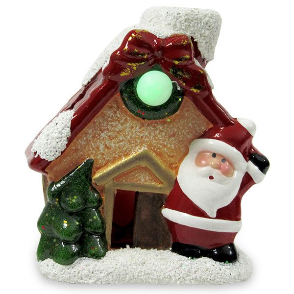 Santa Near Hut Showpiece Rs. 299 This Santa near hut LED showpiece will be an ideal gift for your loved one on Christmas. http://hallmarkcards.co.in/collections/christmas-gifts/products/christmas-celebration-ideas
