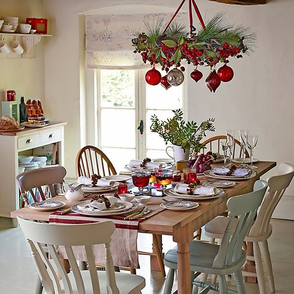 country-cottage-christmas-john-lewis-christmas-decor | Country ...