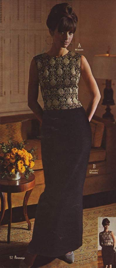 Vintage Women's Fashion from a 1966 catalog.