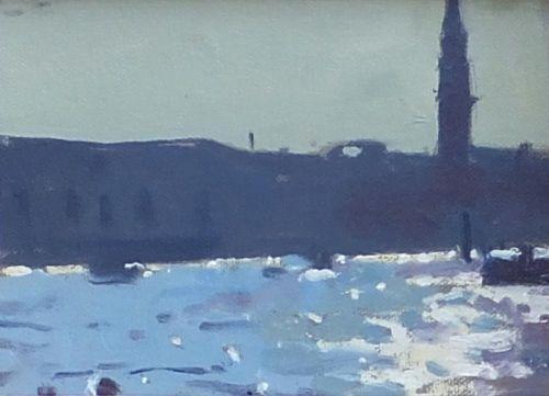 Venice evening light - Ken Howard