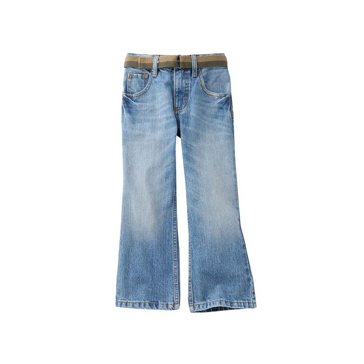 Boys 4-7x Lee Dungarees Relaxed Bootcut Jeans, Boy's, Size: 4 Slim, Blue