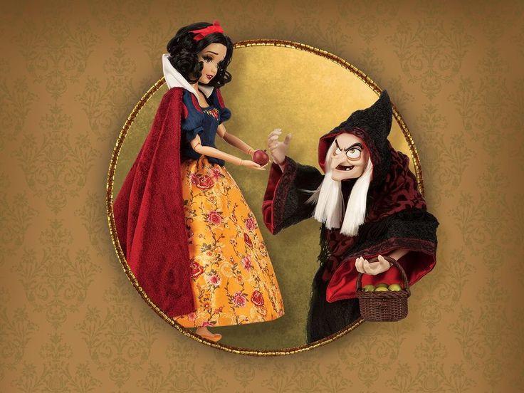 Nuevas figuras Disney en edición limitada para la Fairytale Collection de los Disney Store con Blancanieves, Peter Pan, Rapunzel de Enredados, La Sirenita y Frozen