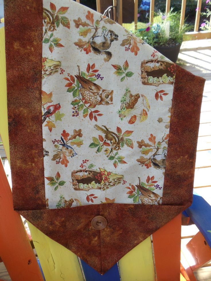 Fall 10 minute table runner my crafts pinterest for 10 minute table runner written instructions