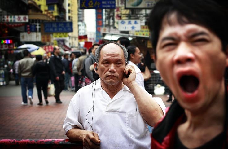 Valokuvaaja Kai Sinervo eli viisi päivää Hongkongin sykkeessä. Katso kuvakooste Hongkong - idän ja lännen välissä. Kuva: Kai Sinervo / HS