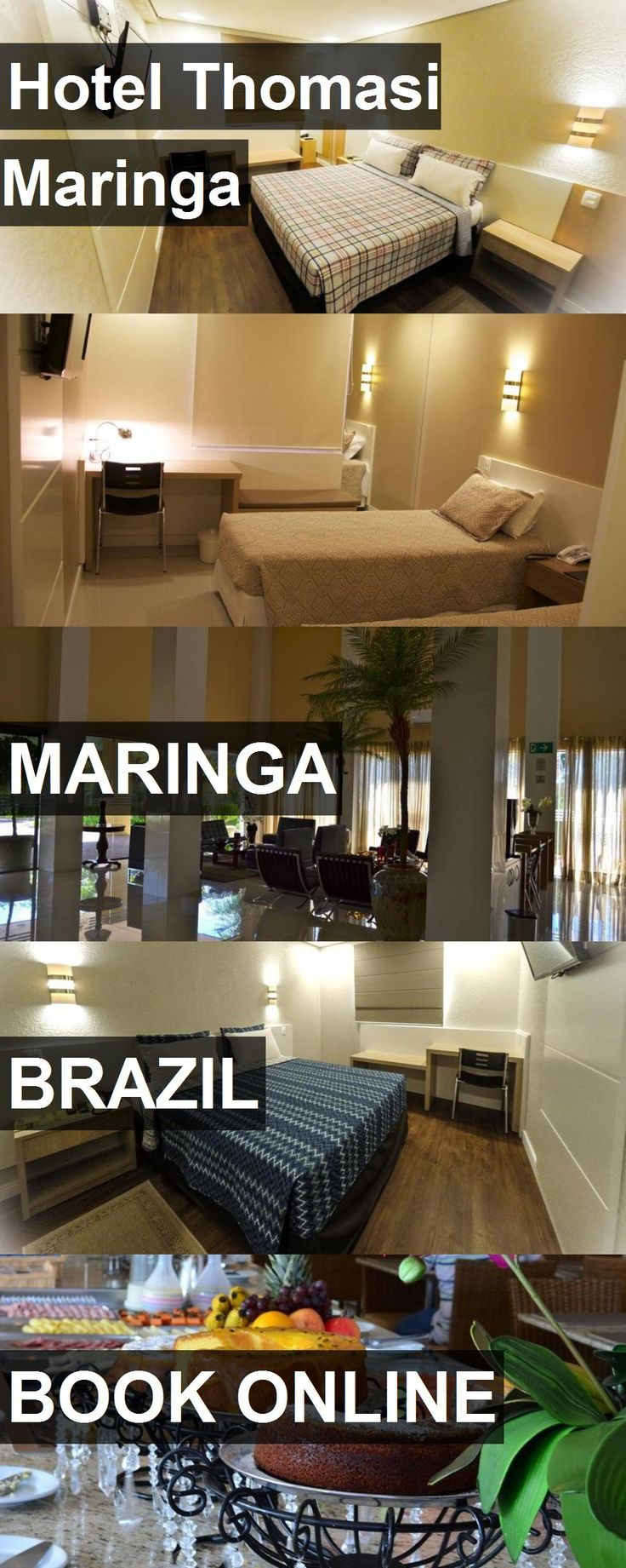 Hotel Thomasi Maringa in Maringa, Brazil. For more information, photos, reviews and best prices please follow the link. #Brazil #Maringa #travel #vacation #hotel